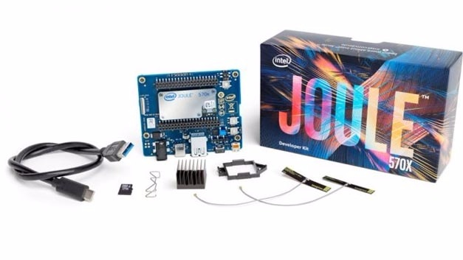 Das Joule-Entwicklungskit ist ab sofort über die Intel-Distributoren verfügbar.