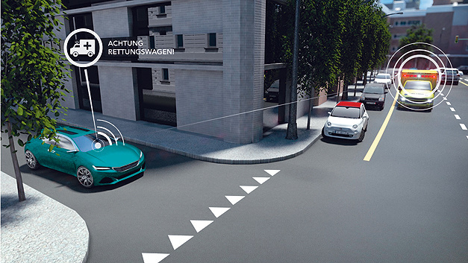 Direktfunktechnik bei Fahrzeugvernetzung die bessere Wahl.