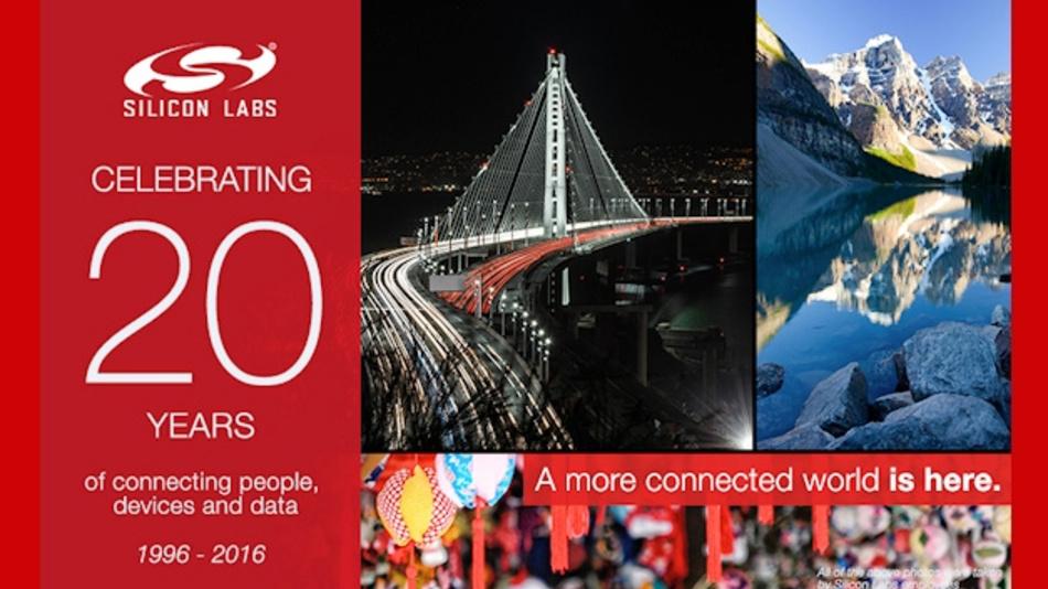 Silicon Labs feiert 20-jähriges Bestehen