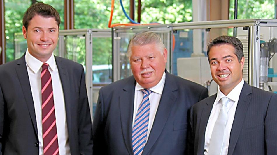Christian Metz, Albert Metz und Jochen Metz