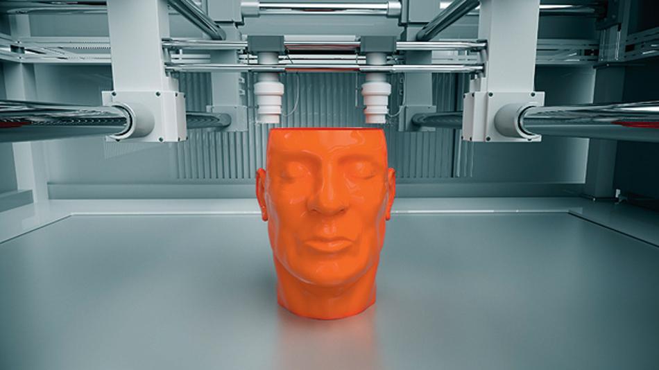 Die 3D-Drucker können eine wichtige Rolle in Industrie 4.0 und IoT spielen.