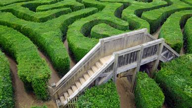 Labyrinth Ausweg