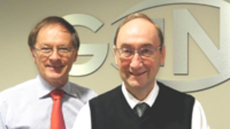 Die Gründer von GaN Systems, Girvan Patterson (links) and John Roberts ziehen sich nach zehn Jahren aus dem Tagesgeschäft zurück.