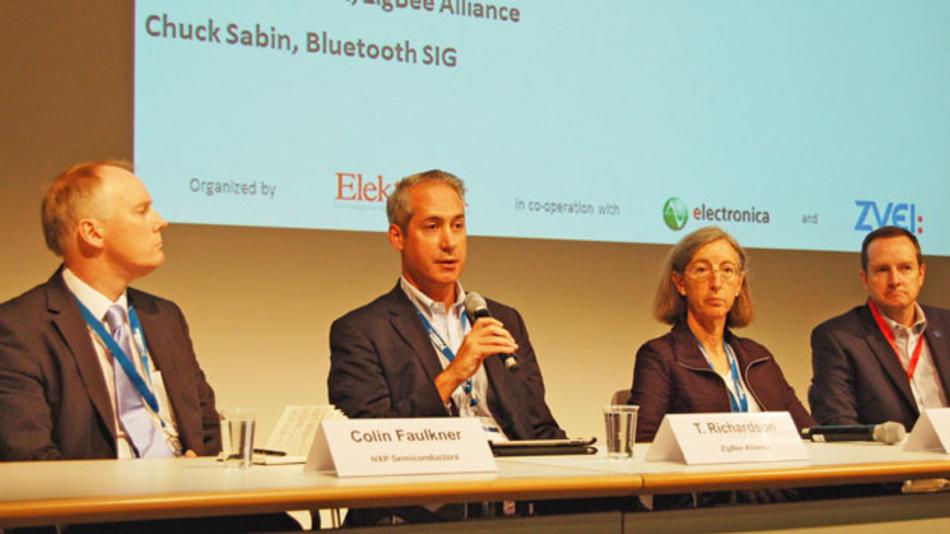 Panel Discussion auf dem Wireless Congress zur electronica 2014.