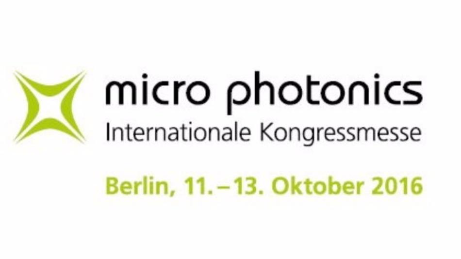 Neue Kongressmesse zu Bio-, Mikro- und Nanophotonik - vom 11. bis 13. Oktober 2016
