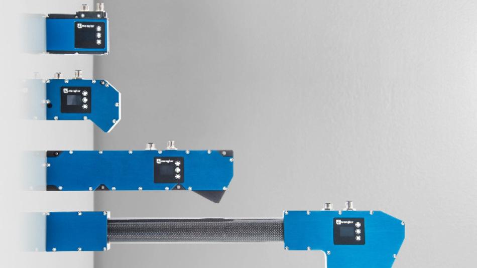 In verschiedenen Größen und Formen sind die 3D-Profilsensoren der Baureihe »weCat3D« von Wenglor Sensoric erhältlich.