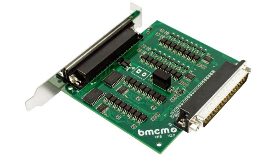 Die OI16 von bmcm dient zur galvanischen Trennung von digitalen Signalen.