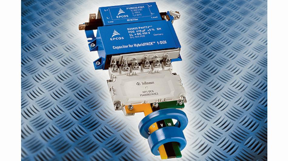 Ein Allround-Umrichter der in E-Mobilitäts- und Industrie-Applikationen zum Einsatz kommt.