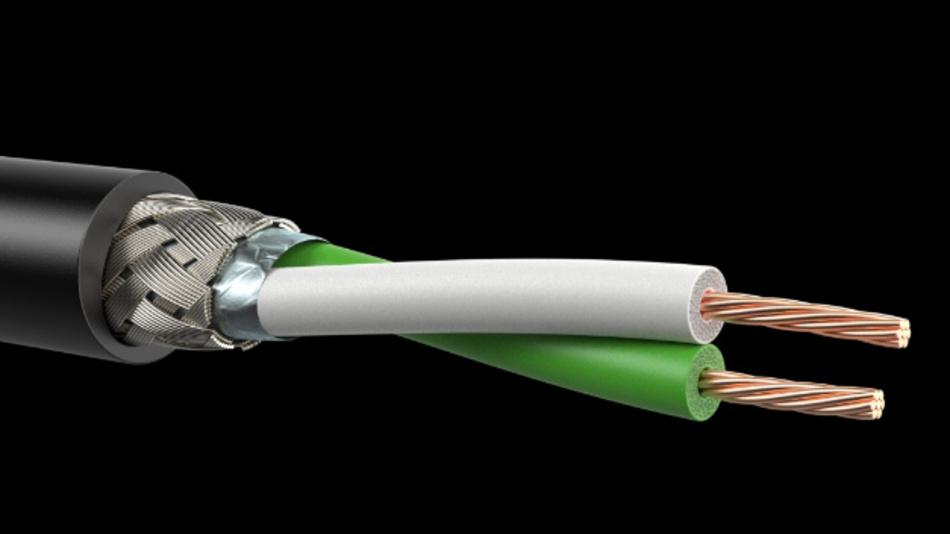 Für EMV-sensible Bauräume empfiehlt Leoni den Einsatz von Ethernet-Leitungen mit Geflecht- oder Folienschirm.