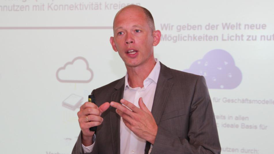 Dr. Thomas Knoop: »Man kann viel mehr mit den Daten aus den vernetzten Komponenten eines modernen Bürogebäudes tun, als heute gemacht wird.«