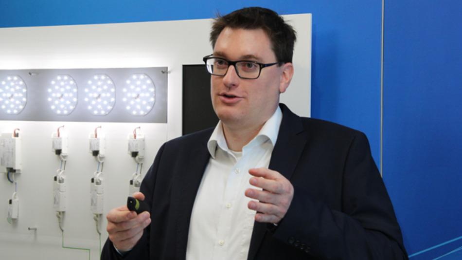 Das Problem ist der mangelnde Fokus auf die Middleware: Mit dem Übersetzen von KNX-Befehlen in DALI-Kommandos ist heute kein Geschäft zu machen, erklärt der Dipl.-Kaufmann Matthias Burger von Tridonic. Und genau das stelle eine Innovationsbremse in der vernetzten Beleuchtung dar.
