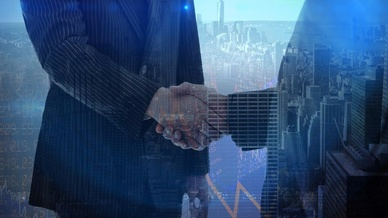 Schmuckbild Übernahme Einigung Partner
