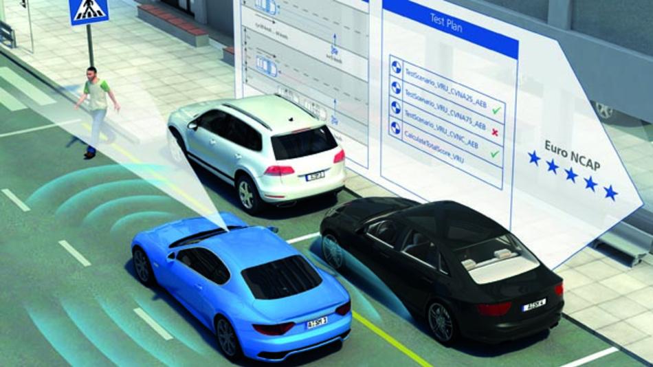 Auf dem Weg zum vollautomatisiertem Fahren spielen ADAS eine wichtige Rolle. Diese sicherheitskritischen Systeme dürfen nicht ausfallen, weshalb im Vorfeld ein durchgängiges Testen essentiel ist.