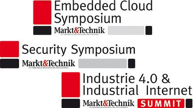 Logos Veranstaltungen Markt & Technik