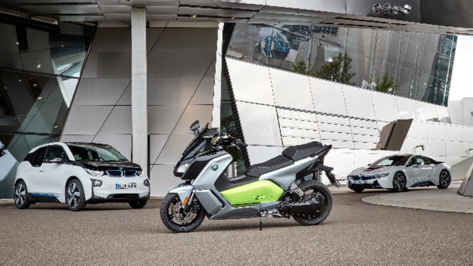 Im neuen BMW C evolution kommt eine Batteriegeneration zum Einsatz, wie sie auch für den i3 verwendet wird.