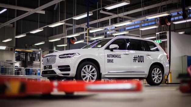 Volvo hat den ersten vollautomatisierte XC90 fertiggestellt. Dieser wird im Drive Me Projekt des Herstellers zum Einsatz kommen.