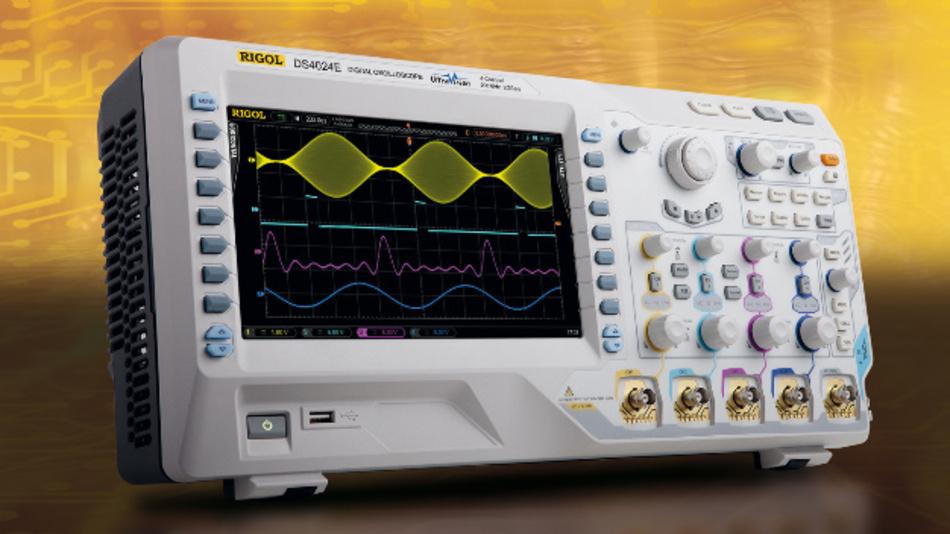 Die DSO-Serie 4000 von Rigol ist auch bei Meilhaus erhältlich.