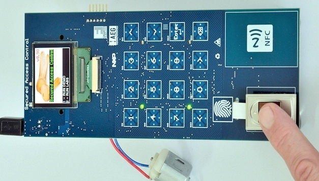 Secure Wireless Access Control Evaluation Board