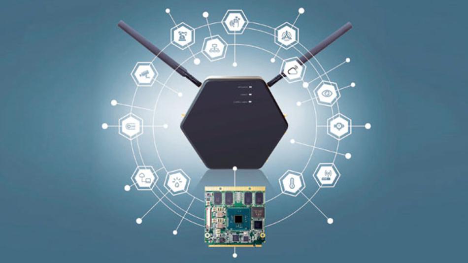 Das IoT-Gateway congatec ist von den Funkstandards über die Software bis hin zum Prozessor für eine hohe Flexibilität und Skalierbarkeit ausgelegt