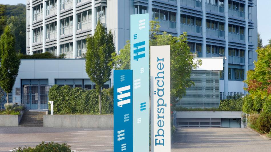 Das Eberspächer Forschungs- und Entwicklungszentrum in Esslingen.
