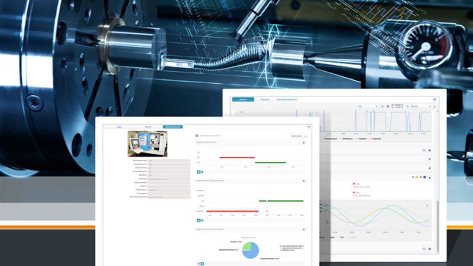 Der »Fleet Manager for Machine Tools« ist eine der ersten Apps von Siemens, die eine Steuerung an die IIoT-Plattform »MindSphere« des Unternehmens anbindet.