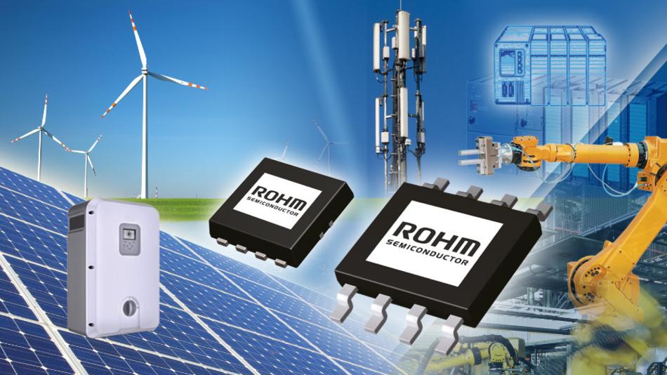 Die isolierte Regler-ICs von Rohm eignen sich für Hilfsstromversorgungen in industriellen Hochleistungs-Anwendungen.