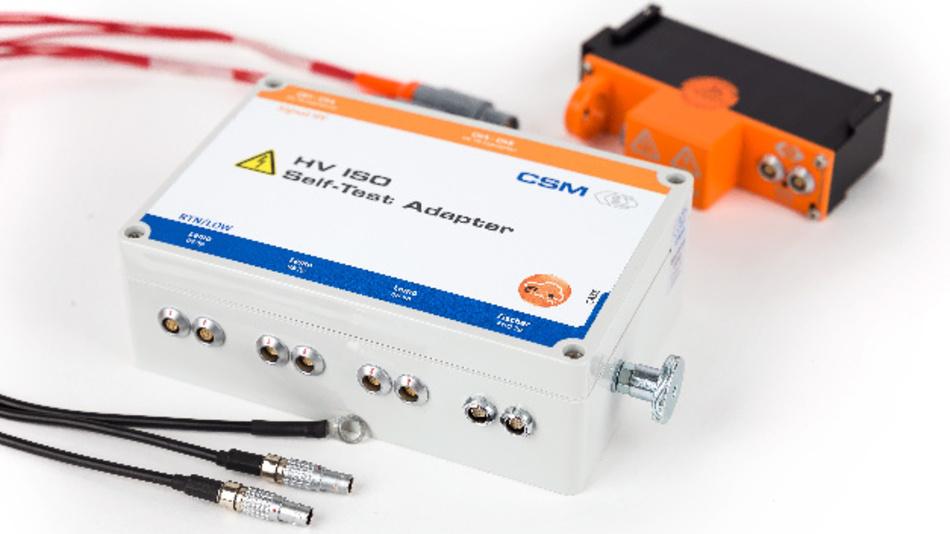 Der Isolationstestplatz von CSM erhöht die Sicherheit von CSM-Messmodulen im HV-Bereich weiter.