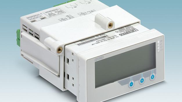 Diese Variante des Prozessanzeigers der FA MCR Familie ist im genormten Schalttafeleinbaugehäuse eingefasst.
