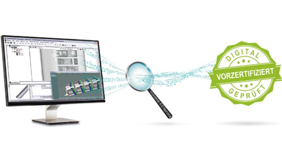 Bild 1: Digitale Modelle lassen sich anhand digitaler Normen auf ihre Normkonformität prüfen.