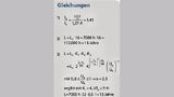 Gleichungen 1 bis 3