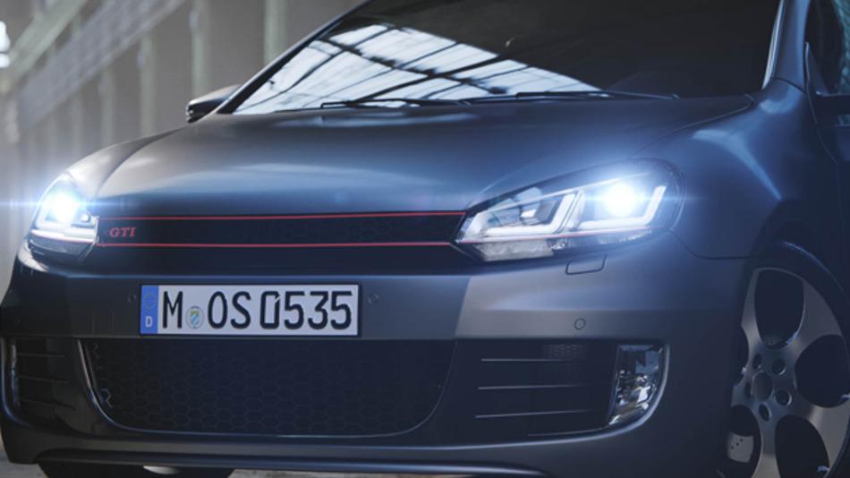Die zweite Variante von Osrams Nachrüst-Vollscheinwerfer LEDriving Xenaric ist für den Golf VI. Es erlaubt die Umrüstung von Halogen-Scheinwerfern auf eine Kombination aus Xenon und LED-Leuchte.