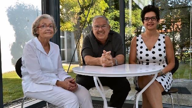 Von links: Ursula und Wolfgang Endrich, das Gründerehepaar, Dr. Christiane Endrich, Geschäftsführerin.