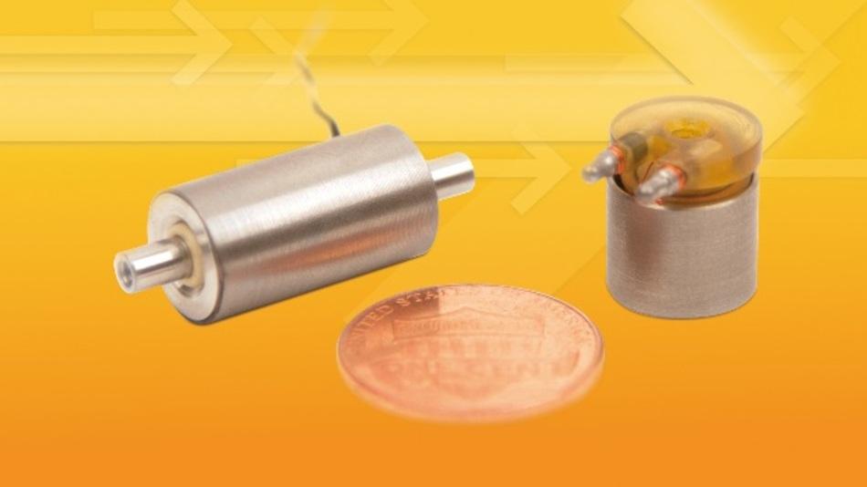 Die Tauchspulenmotoren sind in zwei unterschiedlichen Ausführungen erhältlich.