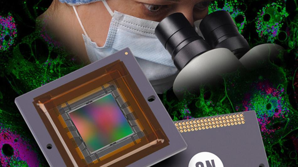 ON Semicondustors Bildsensor KAE-08151 ist der zweite Baustein mit IT-EMCCD-Technik, den das Unternehmen hergestellt hat.