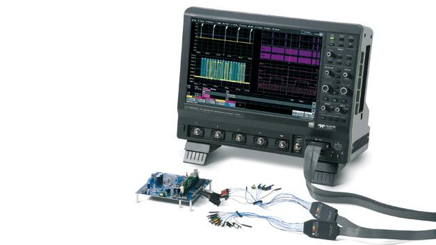 """Effizienz und Bedienungsfreundlichkeit auf neuem Niveau: die HDO9000-Oszilloskope mit HD1024-Technologie,  Synchronisierungsmöglichkeit, OneTouch-Bedienkonzept und kapazitivem 15,4""""-Touchscreen"""