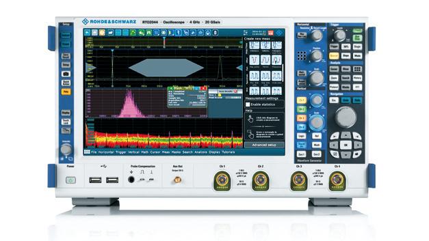 Eine neue, einfach zu bedienende Trigger- und Dekodier-Option für das R&S-RTO2000-Oszilloskop unterstützt Entwickler bei der Inbetriebnahme und Fehlersuche von Geräten und Komponenten mit M-PHY-Schnittstellen.