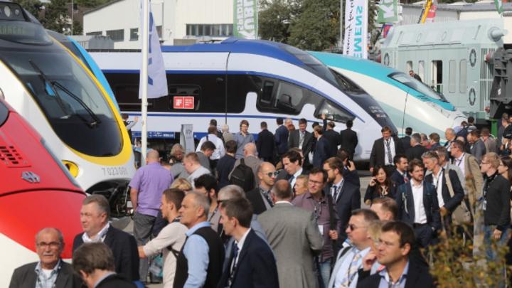 Außenbereich der InnoTrans 2016