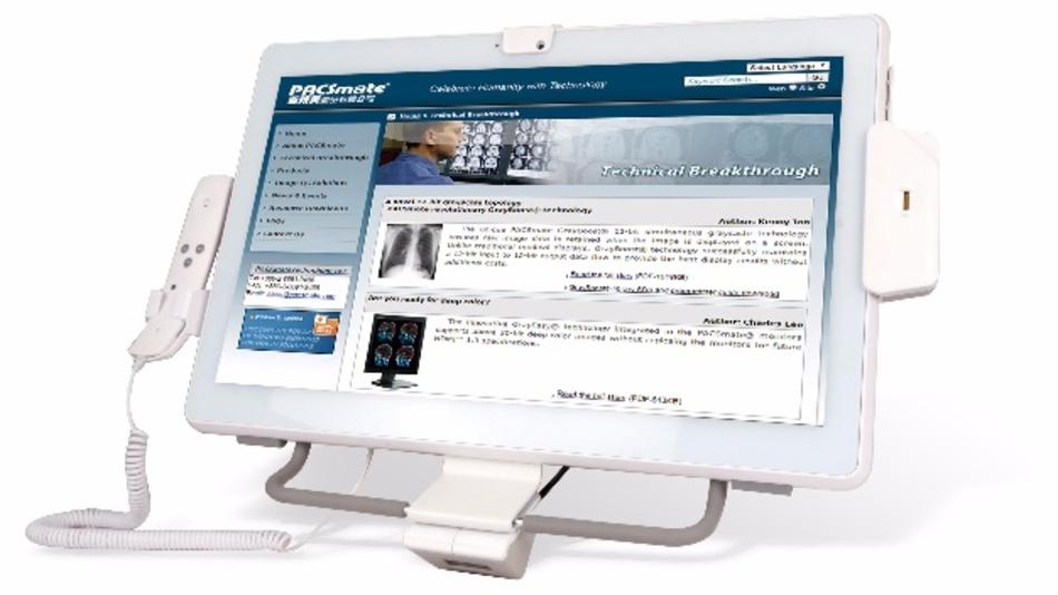 Der 21,5-Zoll-Medical-Panel-PC »POC-W22-H81« bringt den IoT-Ansatz auch in die medizinischen Bereiche.