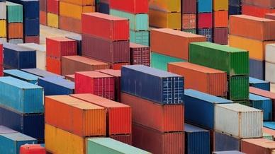 Schmuckbild Fracht, Container