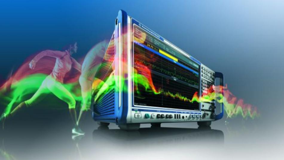 EMV-Messgeräte mit eigenem FPGA für die FFT wie der R&S ESW ermöglichen das Auffinden von kurzen und seltenen Störsignalen.