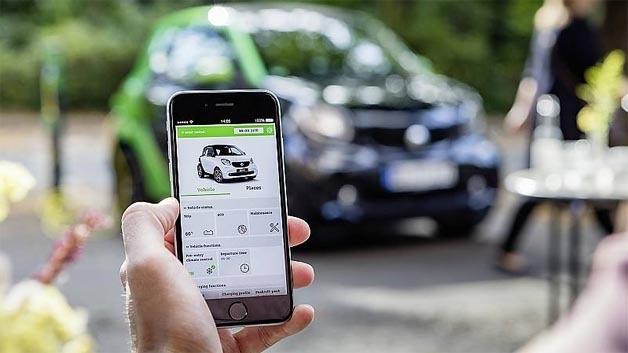 Über die Smart-Control-App lässt sich der Ladevorgang bequem aus der Ferne überwachen und Funktionen wie das intelligente Laden steuern.