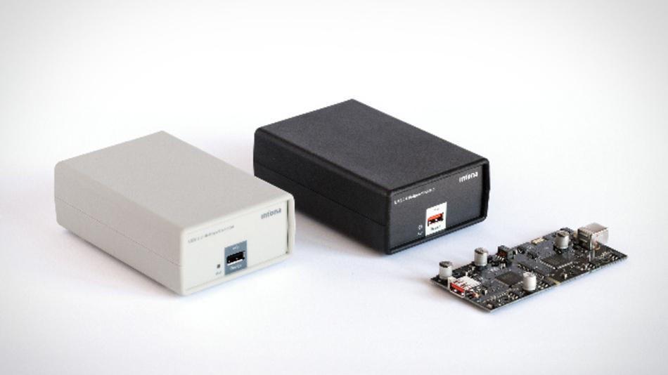 Den USB Hi-Speed Isolator ist in den Ausführungen 1 kV und 2,5kV erhältlich - auf Anfrage auch ohne Gehäuse.