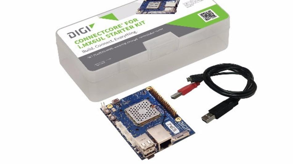 Mit »ConnectCore«-Kit für sein i.MX6UL-Modul will Digi International die Vernetzung von Geräten für Industrie 4.0 und IoT vereinfachen.