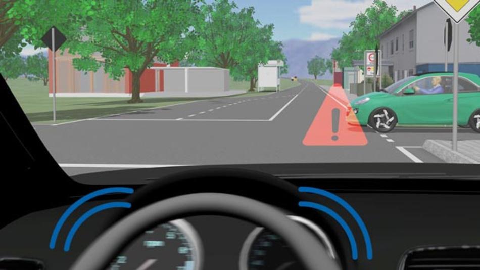 Die Interaktion zwischen mehreren Fahrzeugen lässt sich im Tool CarMaker von IPG Automotive simulieren.