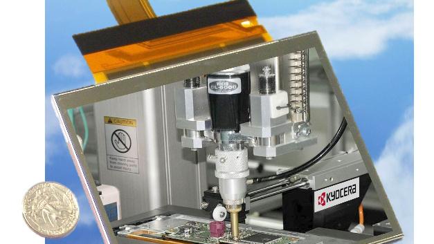 Eine Auflösung von 640x480 Pixel und eine Helligkeit von 450 cd/m2 bietet Kyoceras leichtes 5,7-Zoll-TFT-Display-Modul TCG057VGLAAANN-GN20 für den Einsatz in tragbaren, industriellen Anwendungen.