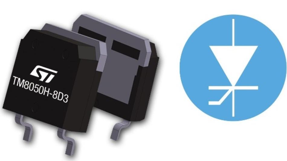 Standardmäßig wird der Baustein im High-Voltage-D³PAK-Gehäuse geliefert.