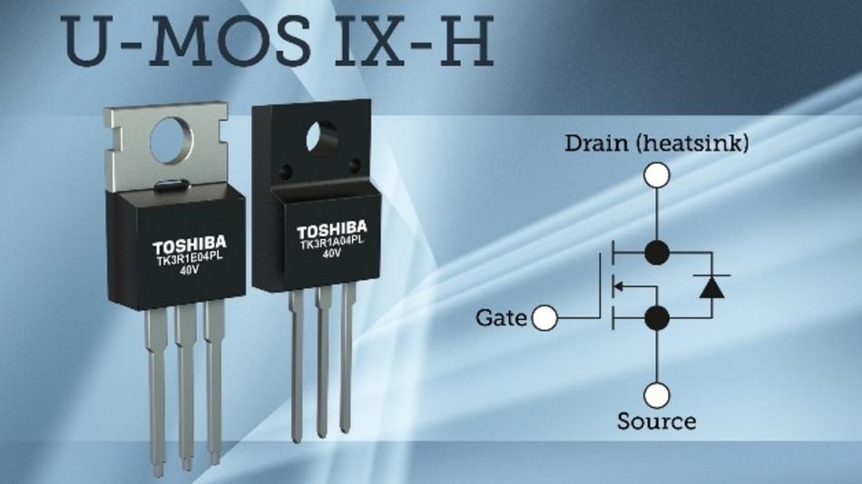 Die MOSFETs arbeiten bei Kanaltemperaturen bis 175 °C.