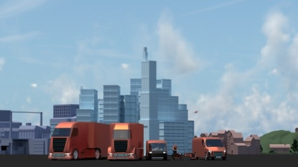 """Die ZF-Zukunftsstudie untersucht Trends auf der """"letzten Meile"""" zum Kunden sowohl in der Stadt wie auch auf dem Land."""