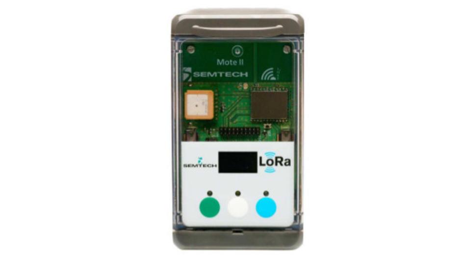 Das LoRa-Modul iM881A-M passt in die Mote-II-Plattform.