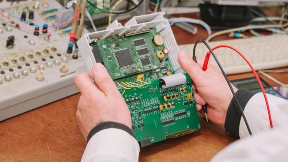 Industriecomputer-Fertigung